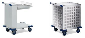 Basket Dispensers, Unheated or with Cooling Slits