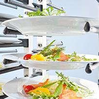 Servistar Plate Stacking System with clever plate holder