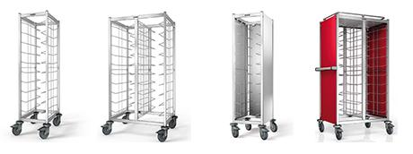 Tray Clearing Trolleys (a clean-cut case for self-service)